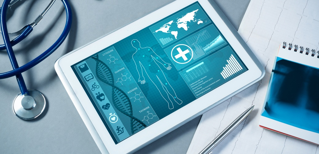 healthcare technology tablet